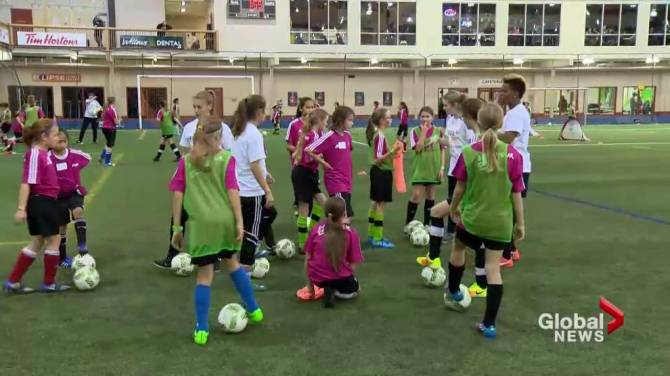 Olympian Karina Leblanc Hosts Fifas Live Your Goals