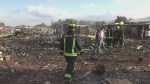 Widespread devastation after massive explosion that killed 27 at fireworks market in Mexico