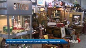 Antique market in Pickering pulls its Nazi memorabilia after complaint lodged