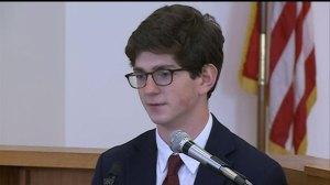 Former New Hampshire prep school student takes stand for 'Senior Salute' rape case