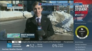 The Weather Channel interviews Brett Ruskin