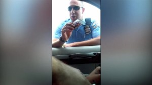 Philadelphia man records police officer's offensive 'shakedown' traffic stop