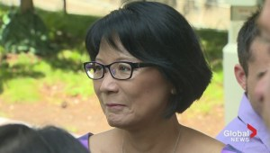 Olivia Chow comments on Stintz's withdrawal from race