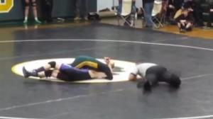 High school wrestler gives up perfect season so special needs opponent can win