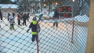 Manitoba Moose Backyard Rink Contest Winner
