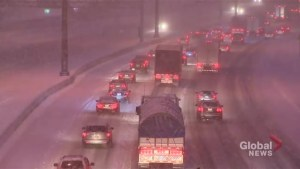 Blast of winter hits Southern Ontario