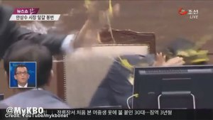 Korean mayor egged by councillor for relocating baseball stadium