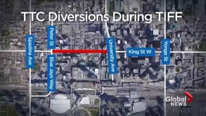 TTC concerned about streetcar detour due to TIFF