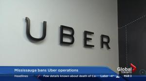 Mississauga bans Uber operations