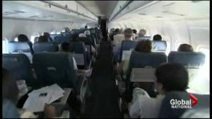 International flight path changes