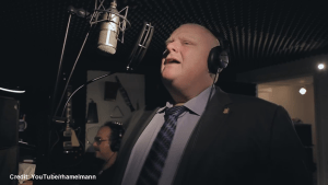 Rob Ford lends his voice to song raising money for cancer awareness