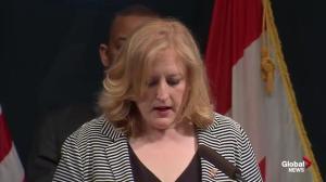 Lisa Raitt addresses rail industry's concerns over cost of new regulation