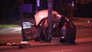 Montreal police investigate single-vehicle crash