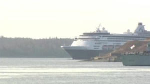First cruise ship of 2016 season arrives in Halifax