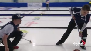 Lethbridge curling fans get an intro to mixed doubles