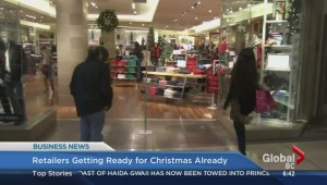 BIV: Retailers getting ready for Christmas already