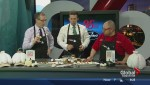In the Global Edmonton kitchen with Chris Hrynyk from Sorrentino's