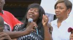 Alton Sterling`s aunt calls for peace, justice at vigil held for Baton Rouge shooting victim