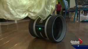 Robot helping Edmonton kids stuck in hospital to reach out