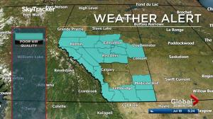 Edmonton early morning weather forecast: Tuesday, July 18, 2017