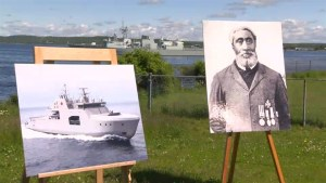New Arctic Offshore Patrol Ship to be named after Nova Scotia hero