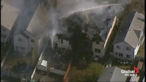 RAW: Hidden Valley house fire