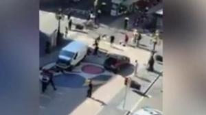 Van drives into crowd in Barcelona terror attack