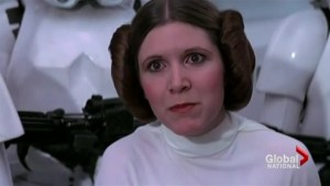 'Star Wars' actress Carrie Fisher dead at the age of 60