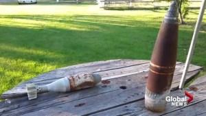 WWII explosives found near Lethbridge