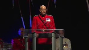 RCMP commissioner speaks at funeral of Const. David Wynn