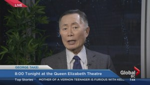 George Takei live from downtown Vancouver