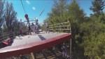 POV: Ride the zipline at Queen Elizabeth Park