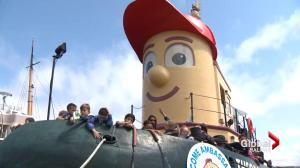 Theodore Tugboat becomes Halifax Harbour's Welcome Ambassador
