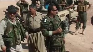 Raw video: Kurdish militas now in control of Kirkuk, Iraq