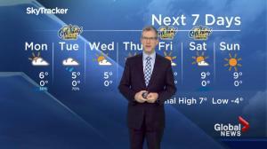 Edmonton Weather Forecast: Oct. 23