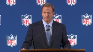 "NFL Commissioner vows to ""get it right"" on issues damaging league"