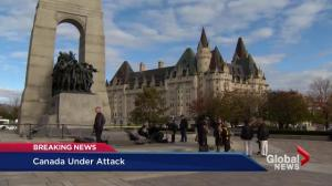 Canada under attack after shooting on Parliament Hill
