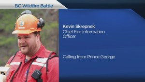 Fort St. John fire wildfire safety update