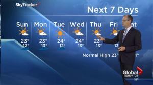 Edmonton Weather Forecast: July 25