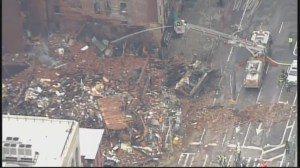 RAW: Aerial footage of NYC apartment fire shows extent of destruction