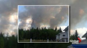 Alberta crews work to douse wildfires