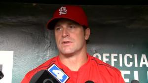 Cardinals manager reacts to 'Hackgate' scandal