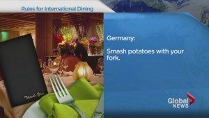 Travel: Eating foreign food