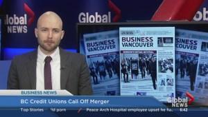 BIV: B.C. credit unions call off merger
