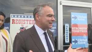 'It seems like something from the Wizard of Oz.' Tim Kaine reacts to Trump's appearance on Dr. Oz