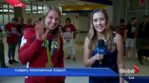 Olympic gold medallist Erica Wiebe returns to Calgary