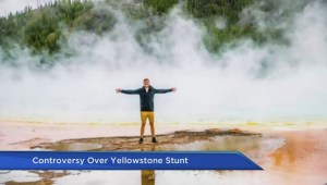 Canadian travel bloggers won't be pursued for Yellowstone stunt