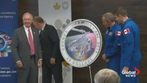 Royal Canadian Mint honours Canada's astronauts with new coin