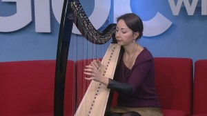 Janelle Nadeau performs on Global News Morning