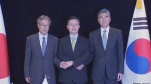 South Korea, U.S., Japan hold talks on North Korean nuclear programme
